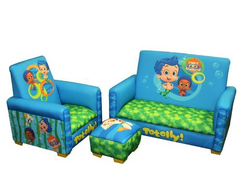 Where can you find Bubble Guppies merchandise?