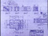 Buffy's house dining room, foyer and kitchen blueprint