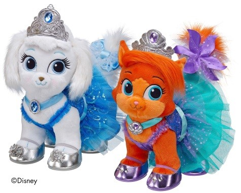 Build a Bear Princess Palace Pet - Treasure, this young kitty belongs to Ariel. Smoke free house and in good condition.