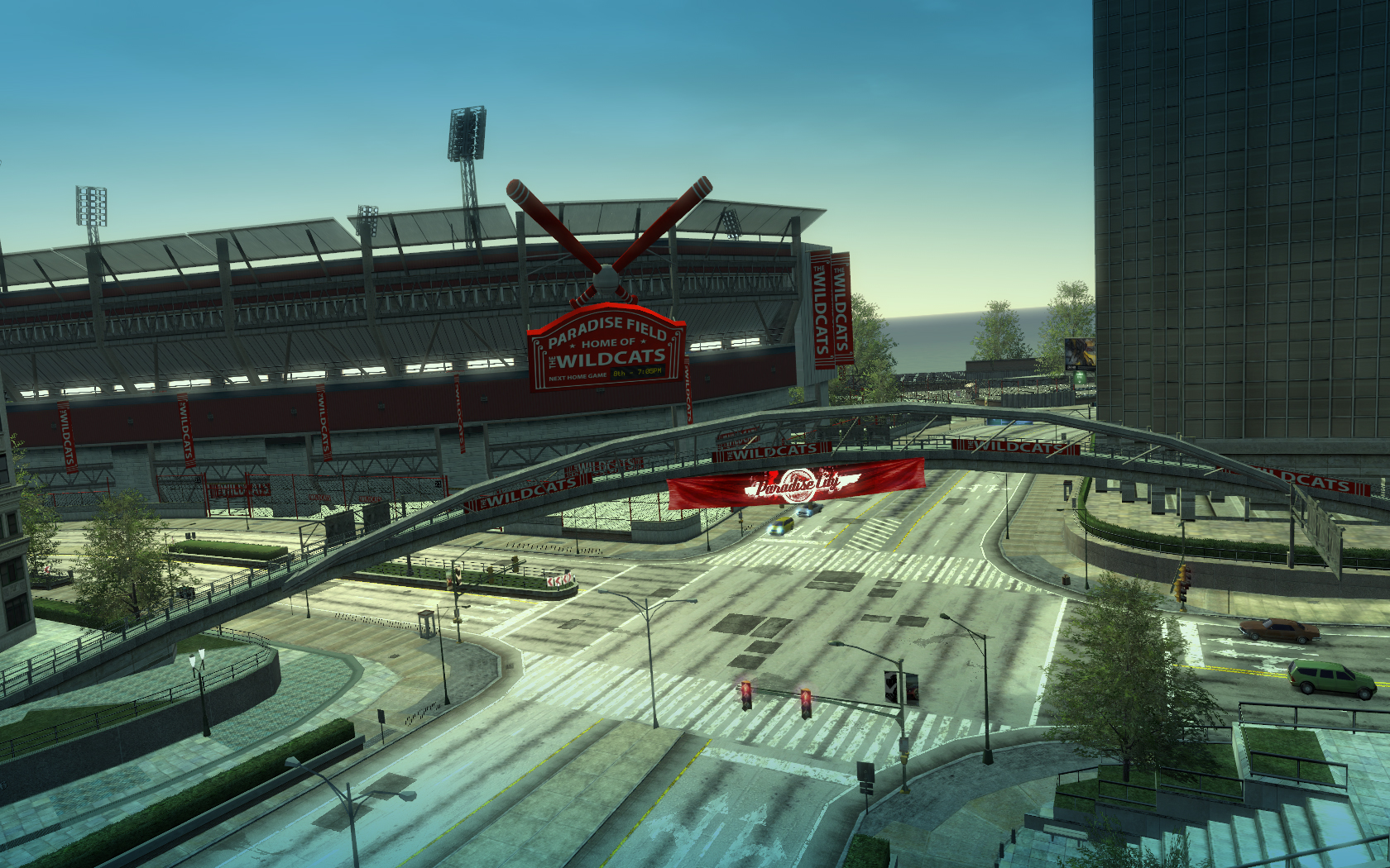 Wildcats Baseball Stadium | Burnout Wiki | Fandom powered ...