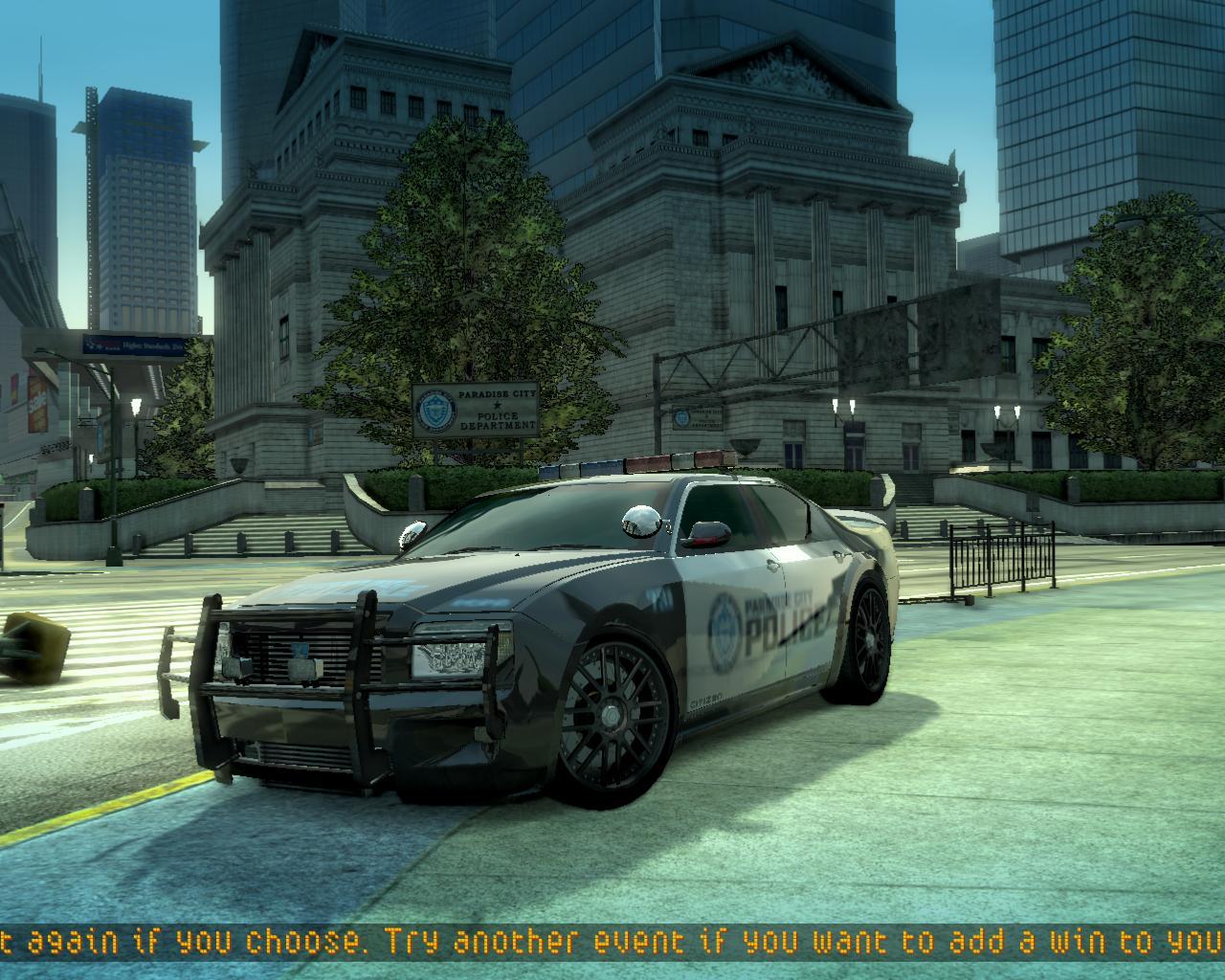 Big Island Police Car