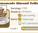 Homemade Almond Toffee