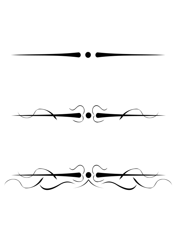 Single Line Text Art : Image underline flourish calibran wiki fandom