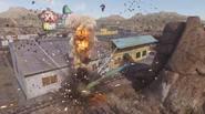 Cannonball Detonating Sideshow AW