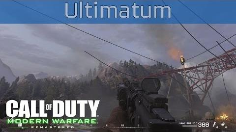 Call of Duty 4 Modern Warfare Remastered - Ultimatum Walkthrough HD 1080P 60FPS