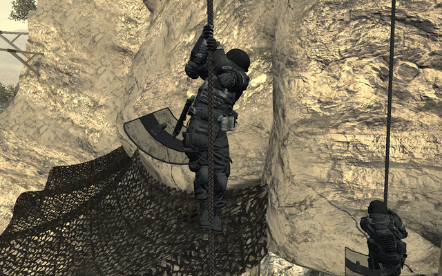 File:Shadow Company soldires with riot shields Just Like Old Times MW2.png