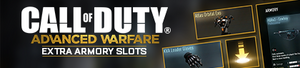 Extra Armory Slots banner AW