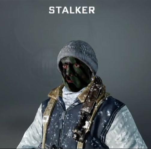 stalker  facepaint