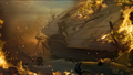 Carrier Sinking Concept Art WaW.png