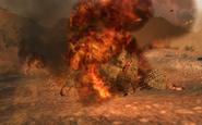 Burning NVA soldier S.O.G. BO