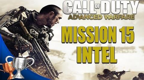 Call of Duty Advanced Warfare - All Intel Locations - Mission 15