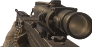 M249 SAW ACOG Scope MWR
