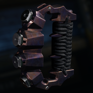 Brass Knuckles Gunsmith Model Burnt Camouflage BO3