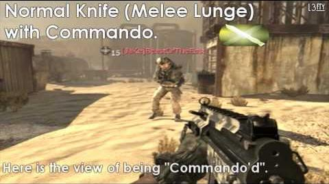 Call of Duty® Modern Warfare 2 - Commando Pro Perk (Normal Knife Tactical Knife Riot Shield)