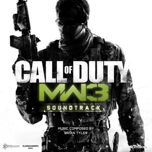 MW3 OST cover