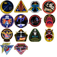 ODIN Space Station mission patches CoDG