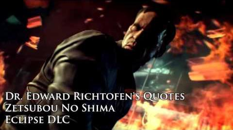 "Zetsubou No Shima - Edward Richtofen's quotes sound files (Black Ops III ""Eclipse"" DLC)"