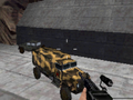 Russian Troop Transport and jeep on the dam.PNG
