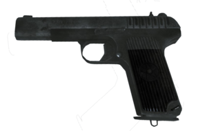 Tokarev TT-33 Third Person BO