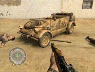 Kubelwagen desert CoD2