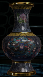 Antique Vase collectible BO3