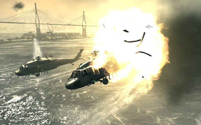File:Blackhawk going down Goalpost MW3.png