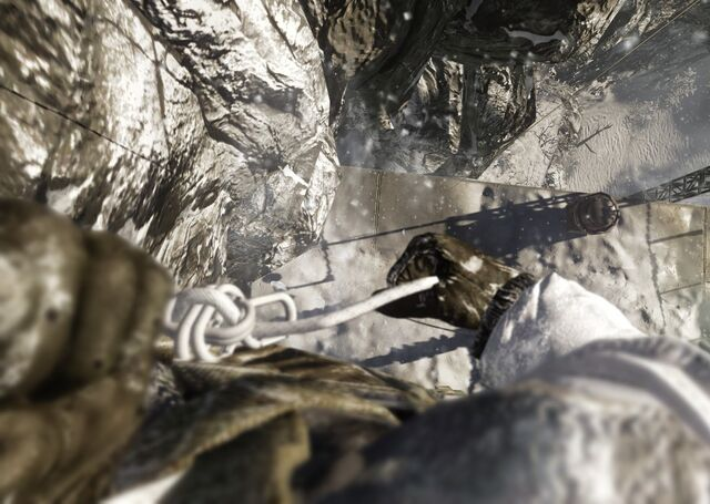 File:Rappeling down the mountain.jpg