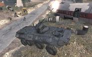 BTR-80 firing Enemy of my Enemy MW2