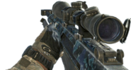 Barrett .50cal Blue MW3