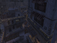 Buildings Winter Crash CoD4