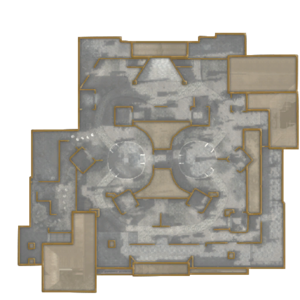 Courtyard minimap WaW