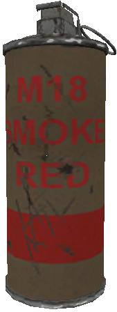 File:M18 smoke grenade red WaW.png
