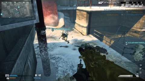 COD Ghosts Nemesis Sub Zero Gameplay Field Order Team Deathmatch