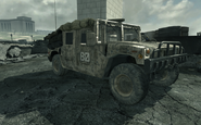 Humvee Iron Lady MW3