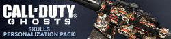 Skulls Personalization Pack Header CoDG