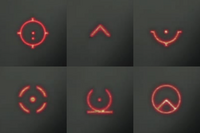 MW3 rds reticles
