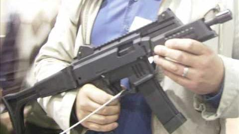 New Czech submachine gun Škorpion EVO III