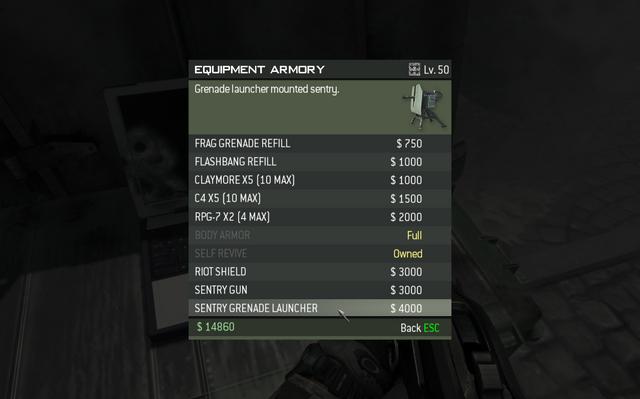 File:MW3 Sentry Grenade Launcher Menu Screen.png