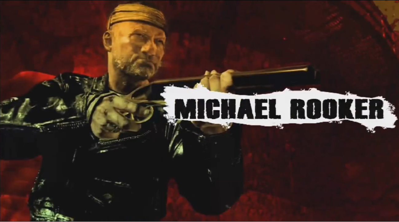 Michael Rooker call of duty