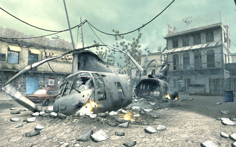 mp_firingrange (Call of Duty 4: Modern Warfare > Maps > Other/Misc ...