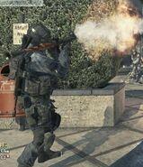 Fired RPG-7 MW3
