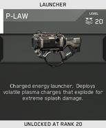 P-LAW Unlock Card IW
