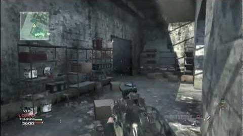 Call of Duty Modern Warfare 3 PP90M1 Red Dot Sight