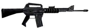 M16A4 third person MWDS