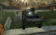 BTR-80 front view Wolverines! MW2