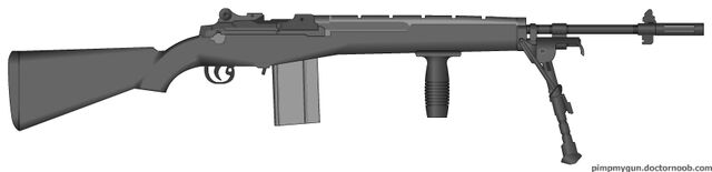 File:Personal Pillsbury810 PMG M14 with grip and bipod.jpg