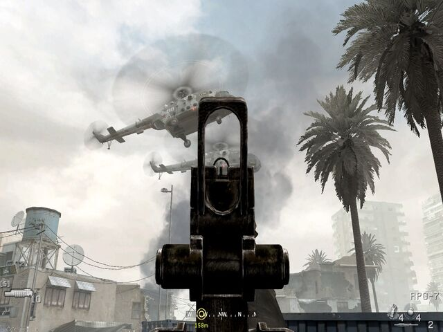 File:Aiming RPG at first chopper War Pig CoD4.jpg
