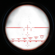 M14 night vision scope overlay CoD4