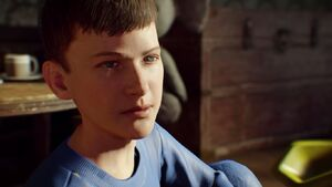 Original Dempsey as a Child in Revelations