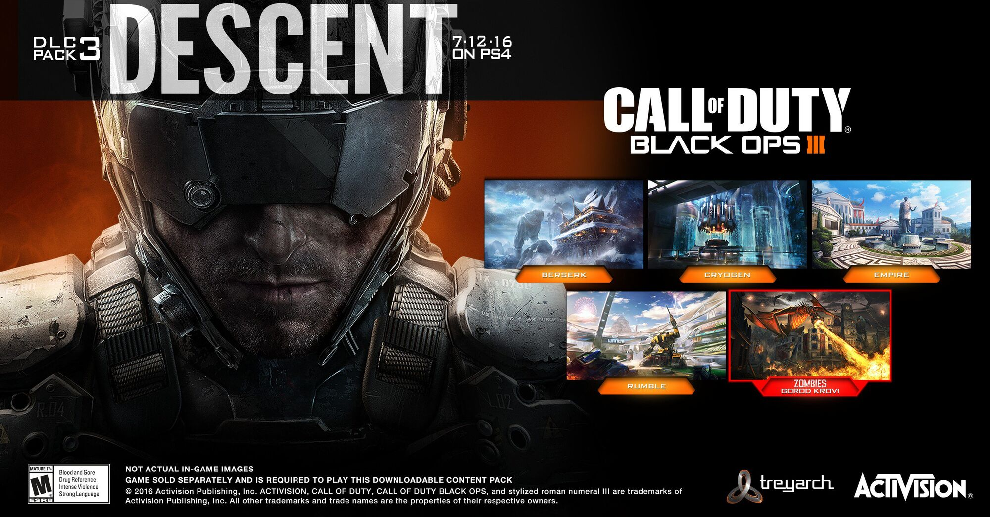 Descent DLC Call Of Duty Wiki FANDOM Powered By Wikia - All of us remastered bo3 zombies maps